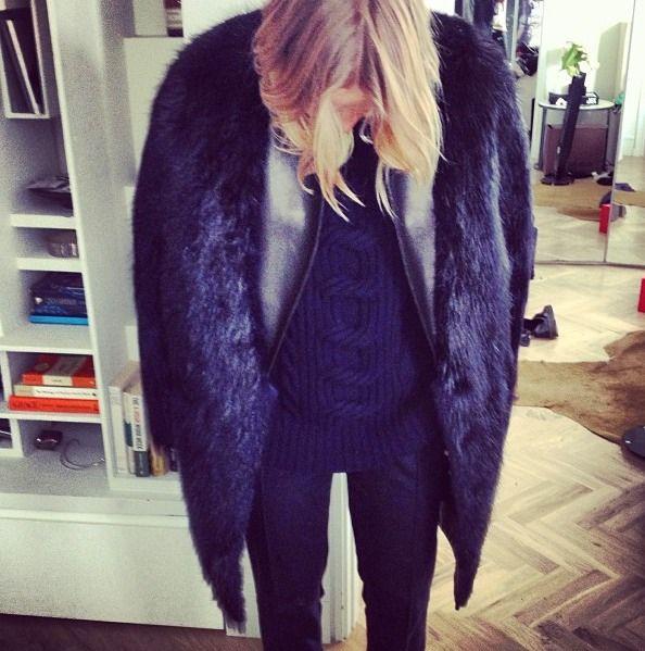 Lara Bingle x Fur x Leather