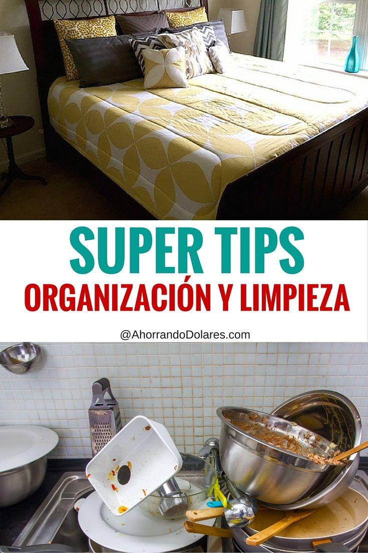 Ideas geniales. Súper tips de organización y limpieza. Organiza tu hogar con ideas rápidas y sencillas.