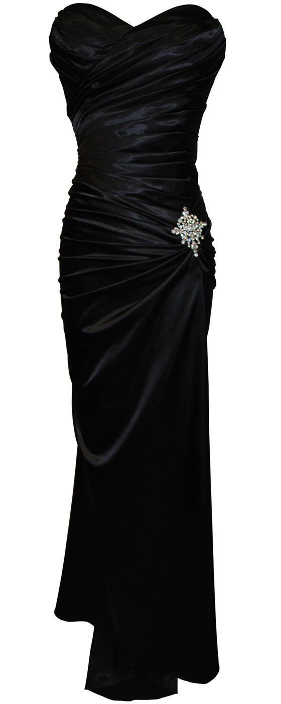 New Elegant Long Formal Classic Prom Bridesmaids Dress                                                                                                                                                                                 Mais
