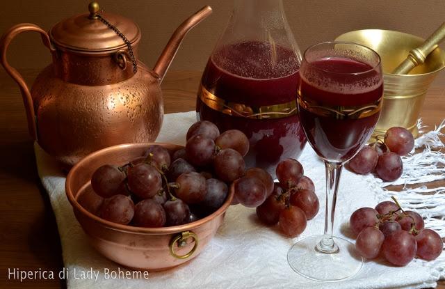 ricetta succo d'uva (necessita anche di bollitura)
