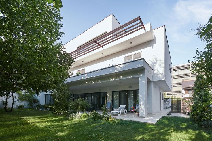 Parkview House in Bucharest, Romania