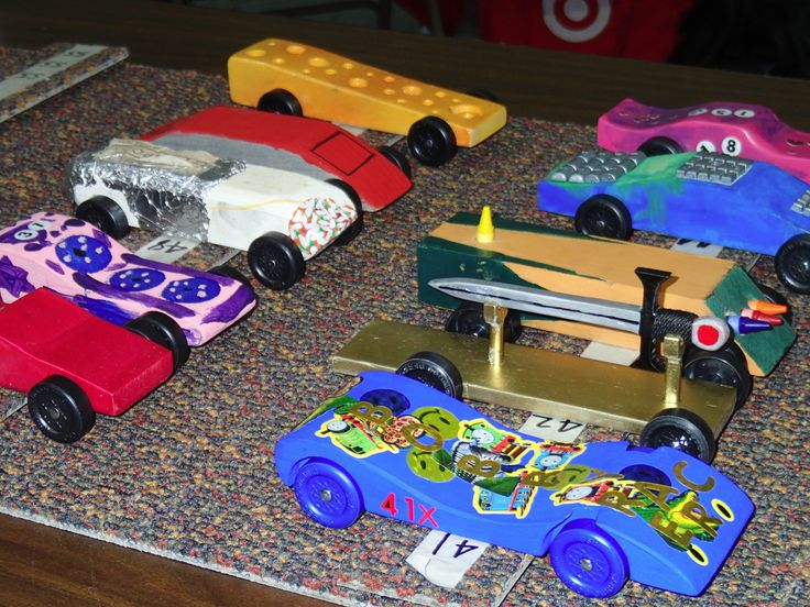 Engineering Secrets of Fast Pinewood Derby Cars