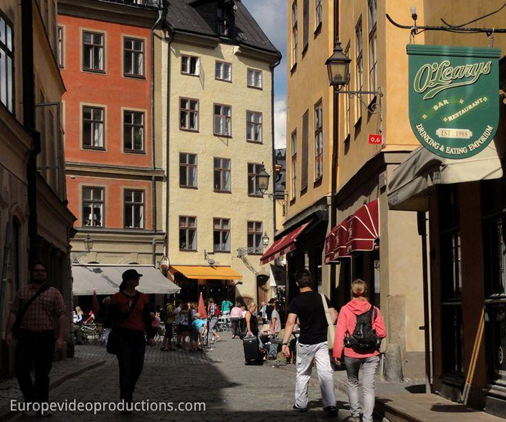 Gamla Stan – Vieille Ville de Stockholm en Suède
