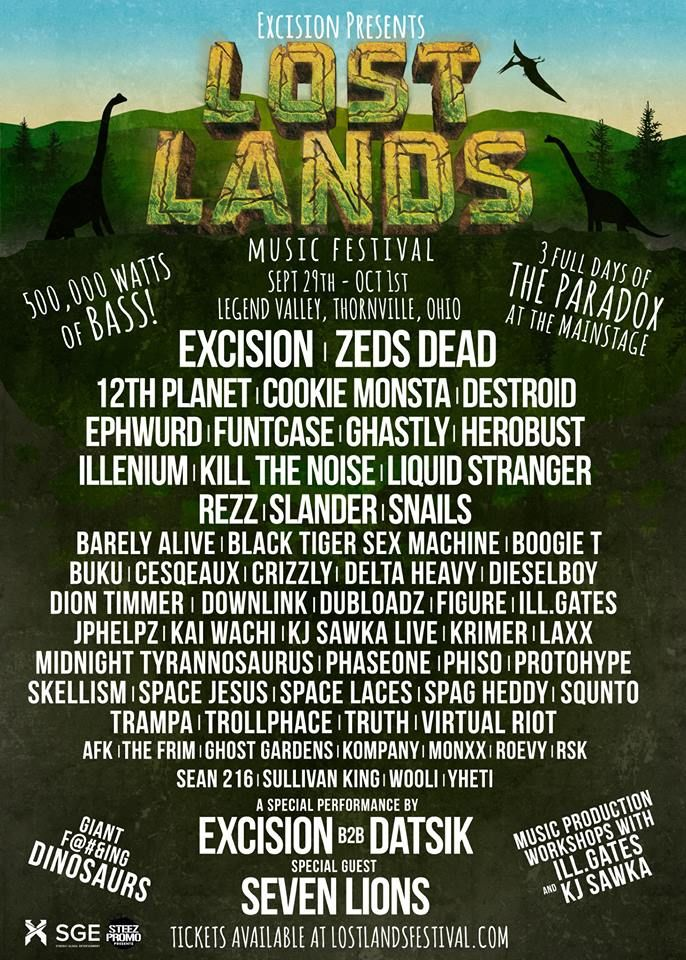 "Excision Drops Lineup For First Ever Festival, ""Lost Lands"" 
