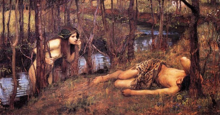 John William Waterhouse | Madeleine Lilu Emelin