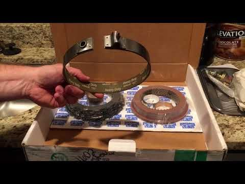 Oregon Performance Transmission TH400 HP rebuild kit