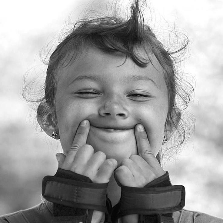 Smile - sometimes you've gotta fake it till you make it!