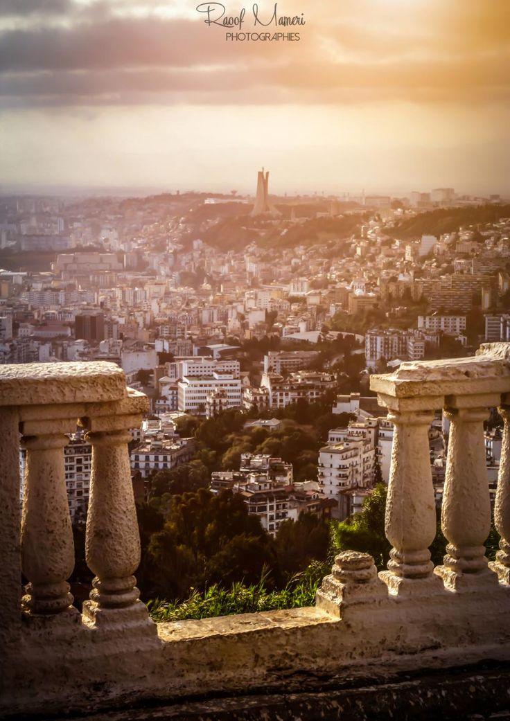 Une vue matinale depuis Saint Raphael #Alger par Raoof MAMERI #Algerie #photography