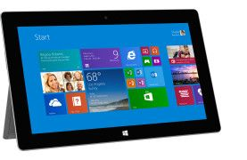 Surface 2 32 GB or 64 GB powered by NVIDIA Tegra 4 processor making it one of the fastest tablets on the market. It comes standard with Office 2013 RT, lots of ports, front and rear-facing 1080p video cameras.