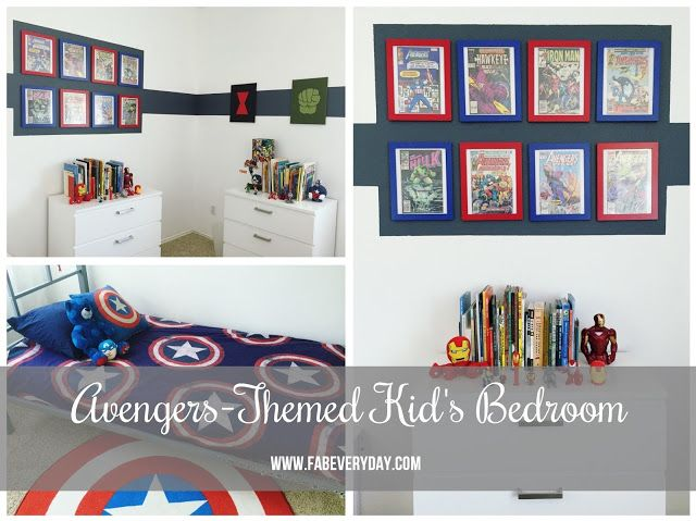 25 best ideas about avengers boys rooms on pinterest for Captain america bedroom ideas