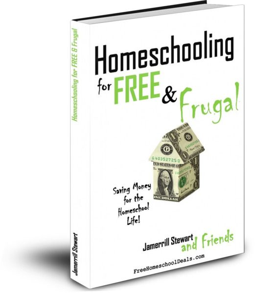free ebook about free/frugal homeschooling plus lots of links to great homeschooling sites