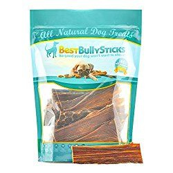 6-inch Joint Jerky Dog Treats by Best Bully Sticks (25 Pack) All Natural Beef Dog Treats