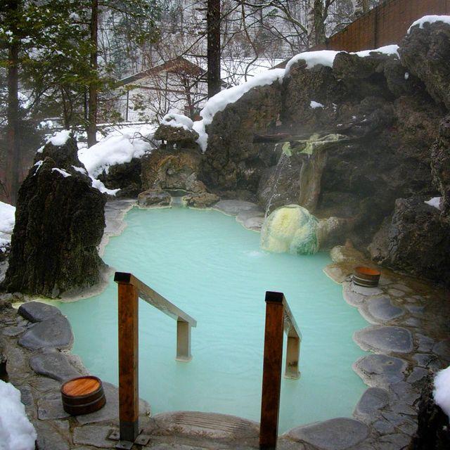 Shirahone Hot Springs, Japan