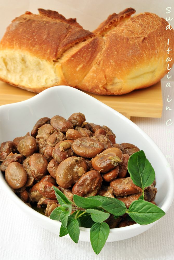 Fave fresche brasate con Cipollotti Rossi - http://blog.giallozafferano.it/suditaliaincucina/?p=1827
