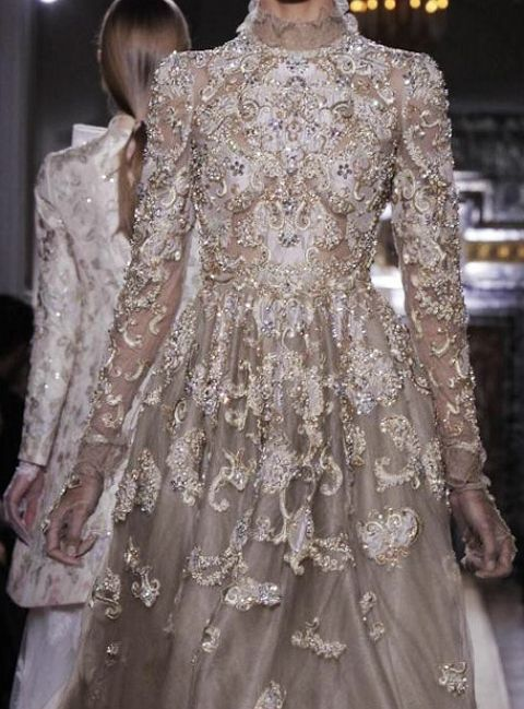 Valentino: make it in a *soft* pink & I could SO get married in this!  ;-)