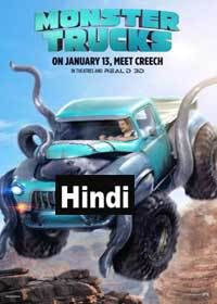 Monster Trucks (2016) DVDRip Hindi Dubbed Movie Online