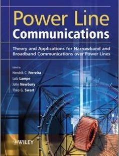 Power Line Communications Theory and Applications for Narrowband and Broadband Communications over Power Lines free download by Ferreira Hendrik C ISBN: 9780470661284 with BooksBob. Fast and free eBooks download.  The post Power Line Communications Theory and Applications for Narrowband and Broadband Communications over Power Lines Free Download appeared first on Booksbob.com.