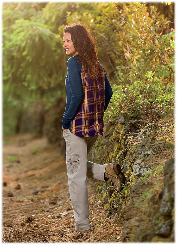 Natural Reflections Stretch Cargo Pants for Ladies | Bass Pro Shops: The Best Hunting, Fishing, Camping & Outdoor Gear