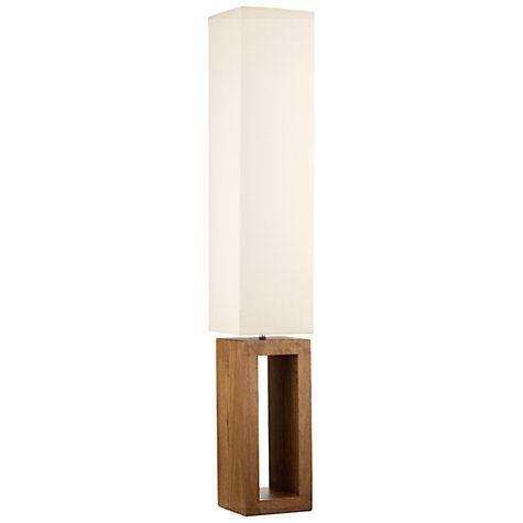 Buy John Lewis Echo Wood Floor Lamp Online at johnlewis.com