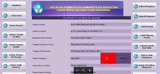 Aplikasi Excel Pembuat Administrasi Ujian Nasional Dan Ujian Sekolah Terbaru