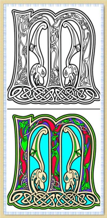 Best 25 Celtic alphabet ideas