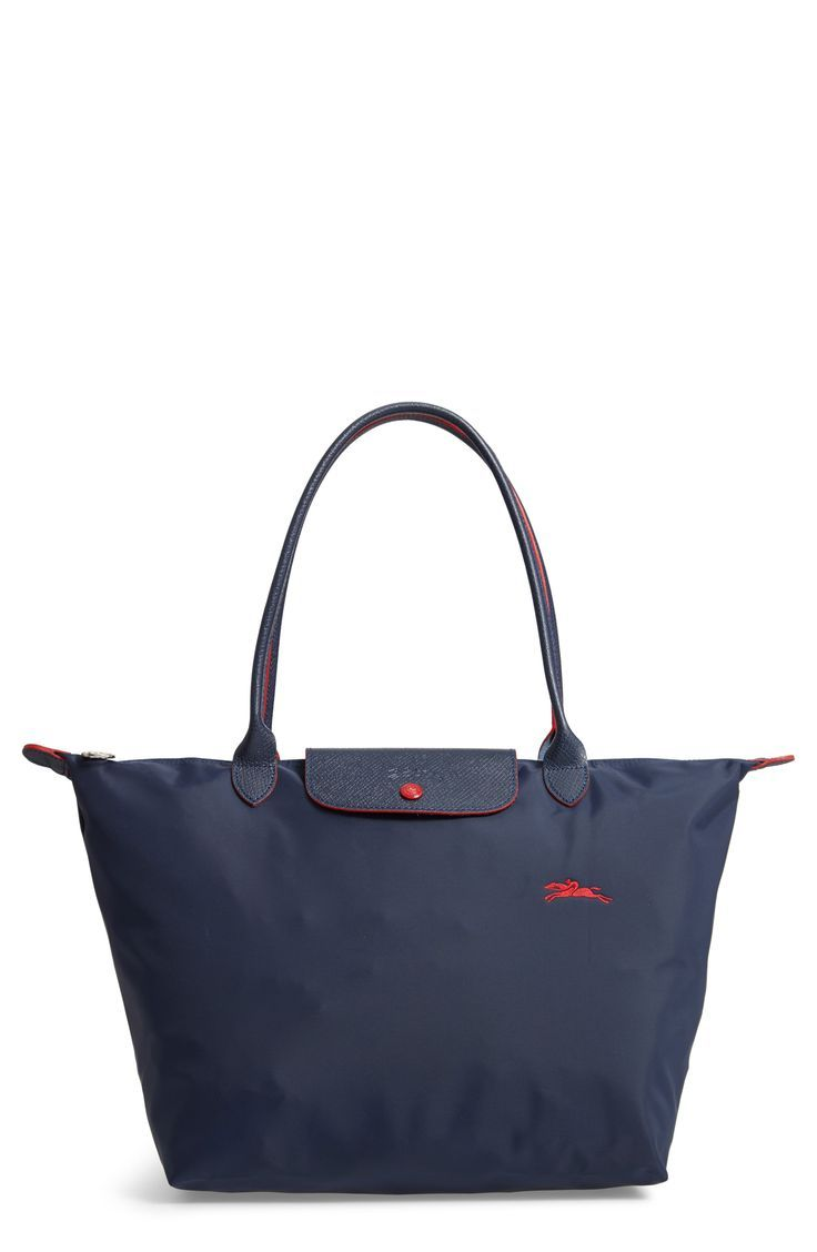 Longchamp The Folding Club Tote Tote Bag Longchamp Le Pliage Tote Shoulder Tote