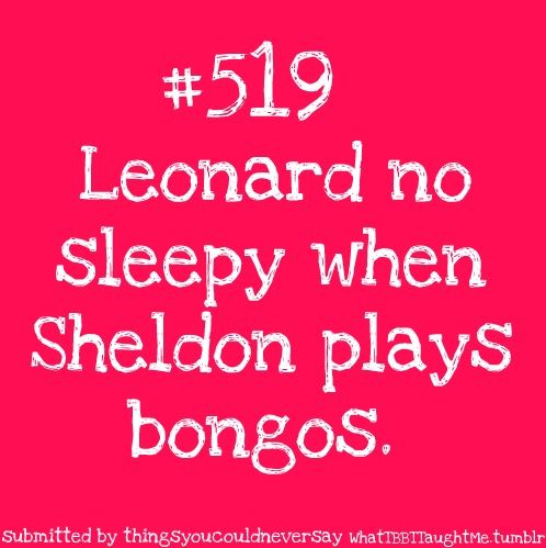 The Big Bang Theory: Sheldon Plays, Sheldon Cooper, Bigbangtheory, Repin By Pinterest, Plays Bongos, Funny Stuff, Awesome Pin, Bang Theory 3, The Big Bang Theory