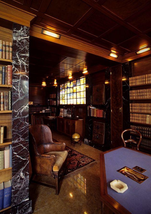 Villa karma Adolf loos biblioteca