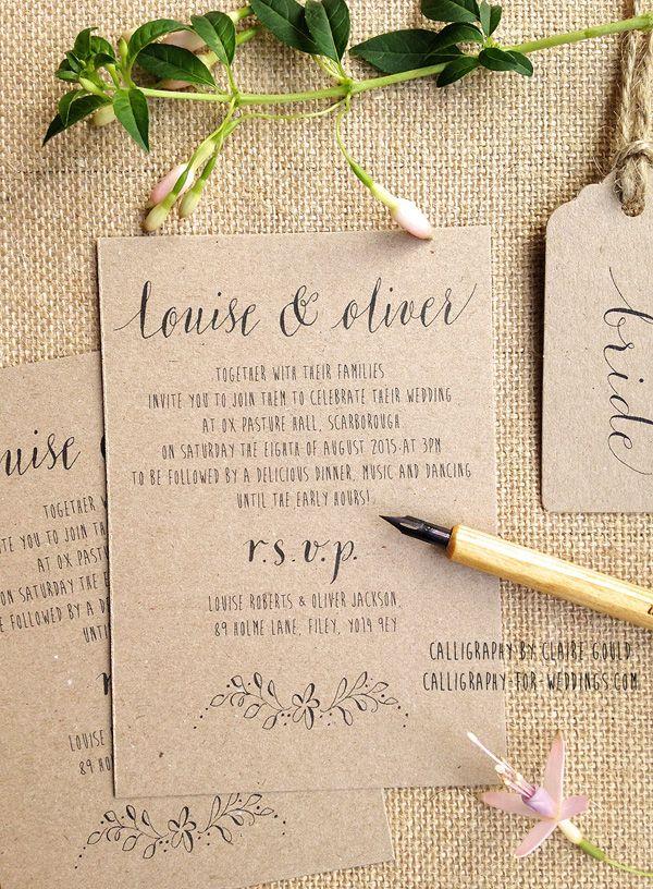 Wonderful When To Order Wedding Stationery   DIY, Off The Shelf Or Bespoke