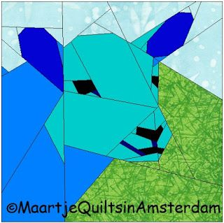 Maartje Quilts in Amsterdam: Farm patterns