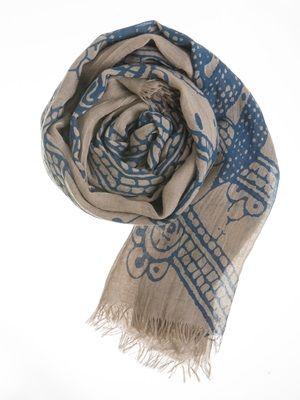 Barfota spring/summer 2014 scarf pattern www.barfota.no