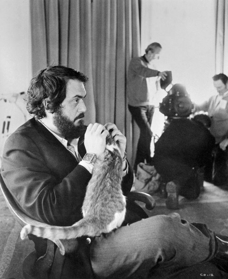 Стэнли Кубрик икот насъемках «Заводного апельсина», 1970-1971 год.