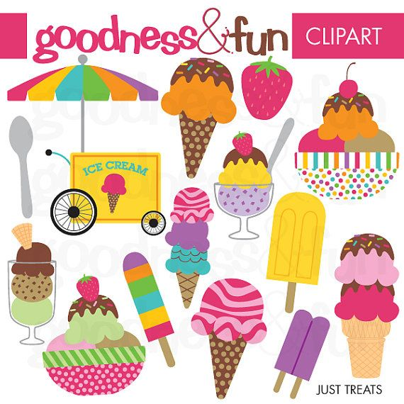 Buy 2 Sets, Get 2 Sets FREE - Digital Clipart - Just Treats on Etsy, $5.00