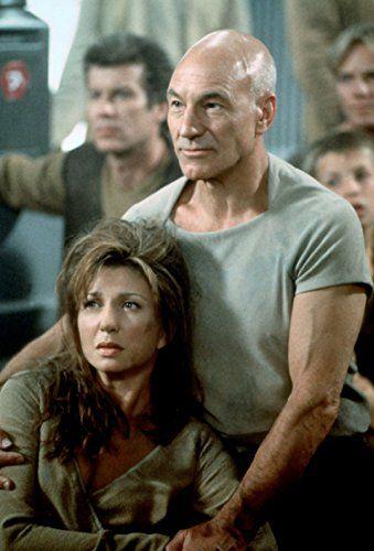 Patrick Stewart, Daniel Hugh Kelly, and Donna Murphy in Star Trek: Insurrection (1998)