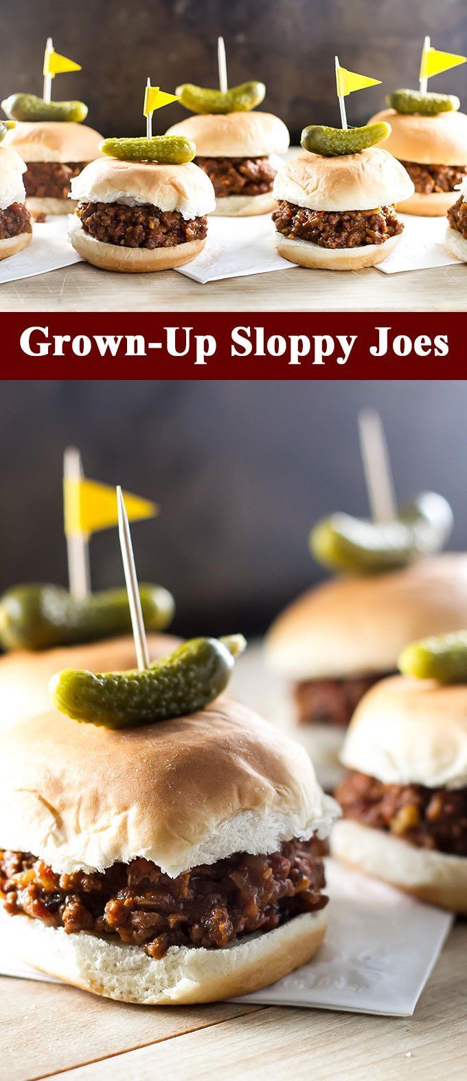 average sloppy joes! Try this grown-up version flavored with red wine ...