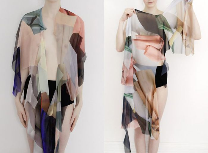 Stéphanie Baechler – Fabric in Folds