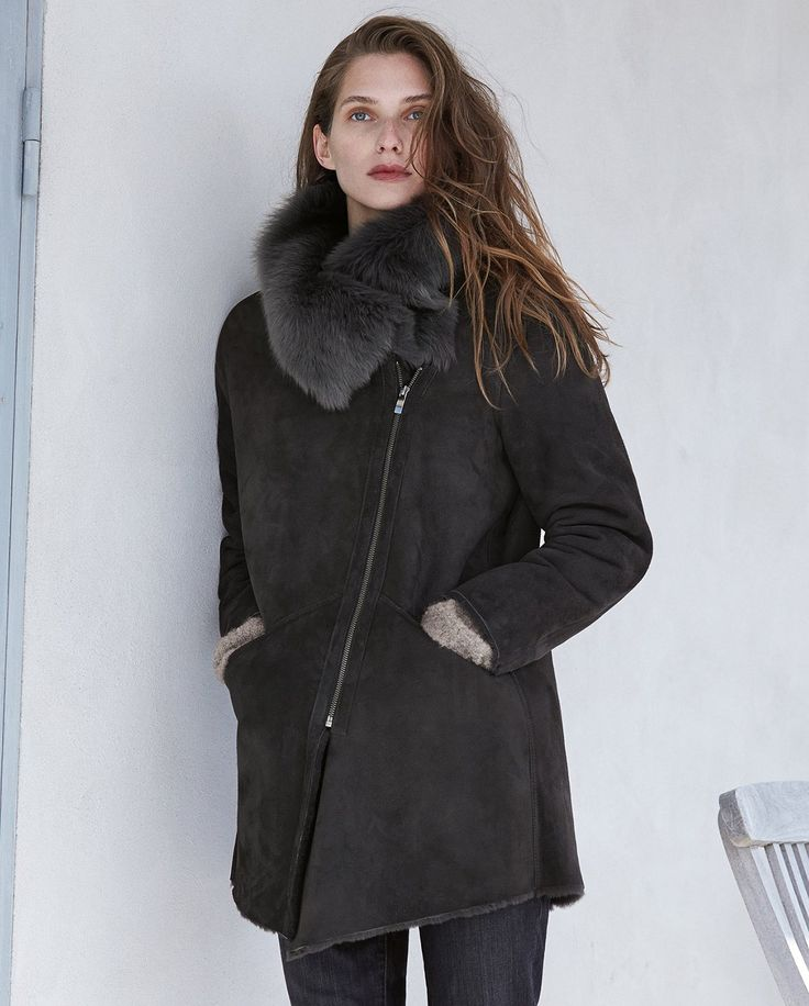 Best 25  Sheepskin coat ideas on Pinterest | Sheepskin jacket ...