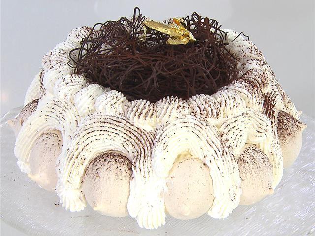 Risultati immagini per torta meringata al caffè montersino