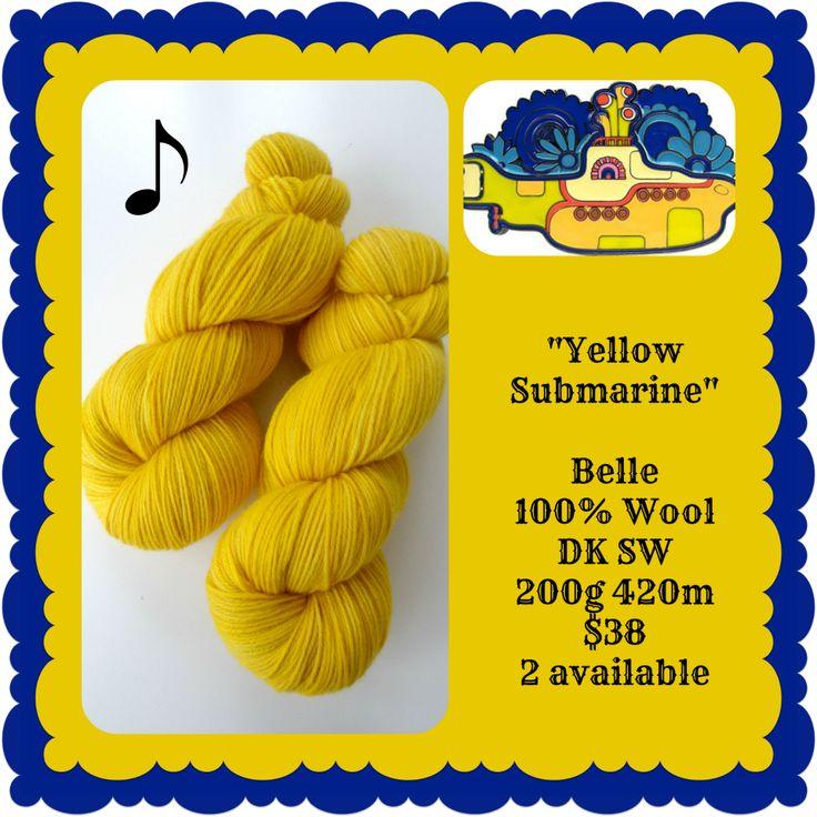 Yellow Submarine - Beatlemania | Red Riding Hood Yarns