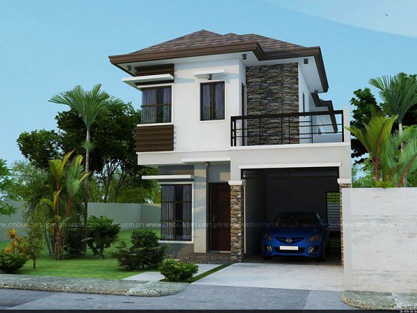 Philippine modern box type house design joy studio for Modern box house design
