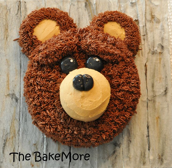 Image result for bear head cake