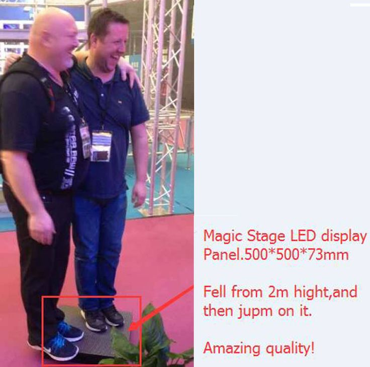 Magic Stage Series Led display outdoor =indoor led screen+normal outdoor advertising screen+perimeter screen+sky curtain+dance floor. Besides, it can build curve, circle, letter, figure, any creative shapes you by dislocation installation (horizontal dislocation, vertical dislocation, front&back dislocation). Picture showing products: Magic Stage series led display outdoor P5.9