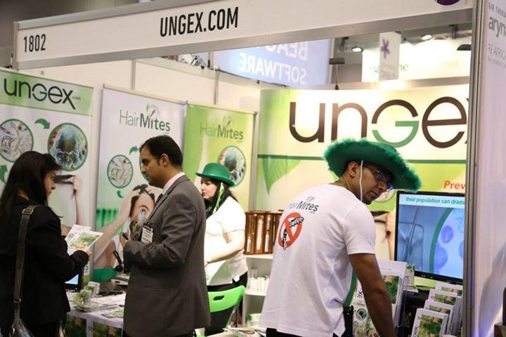 UNGEX at Salon Melbourne Exhibition, March 23-24, 2014 - Demodex hair mites solution