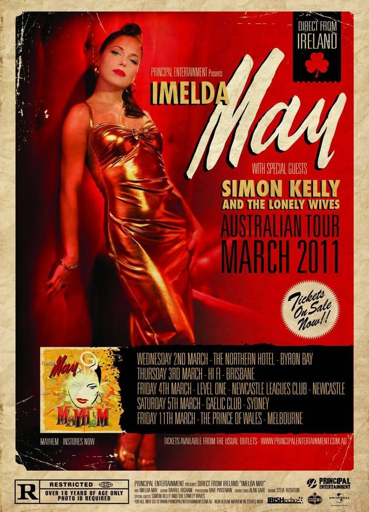 Imelda May Australian Tour 2011