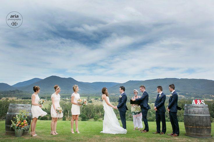 Riverstone Estate Ceremony   Yarra Valley