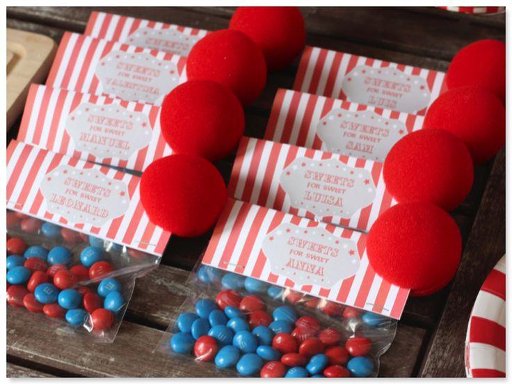 Zirkus Mitgebsel www.pickposh.de
