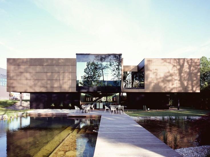 best architects architektur award // peter reiter architekten zt gmbh / ingenia gmbh technologiezentrum / best architects 13 / Büro- & Verwaltungsbauten