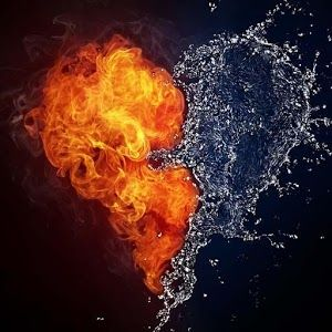Fire and water love..