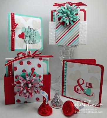 Inking Idaho: Sweet Little Valentines - January FREE Tutorial