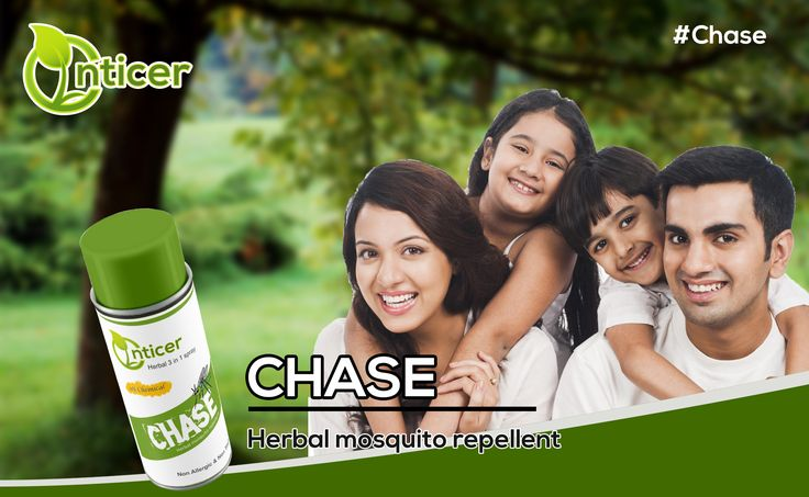 #chase We know how much you care your #family try our #mosquitorepellent   #enticer #enticergroup #organicproducts